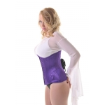 Purple Satin  Underbust Corset***